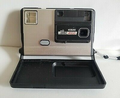 VINTAGE 1980s KODAK DISC 4100 CAMERA GREAT MOVIE/PLAY PROP