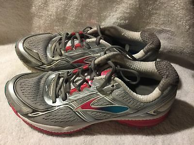 f3d6a7dfcce Used Imperfect Brooks Ghost Grey Running shoes Womens size 8.5 (no insoles)
