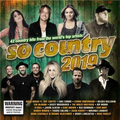 SO COUNTRY 2019 - Various Artists 2CD *NEW* 2019