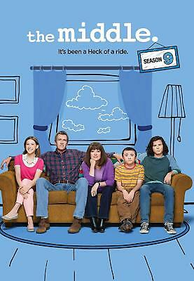 The Middle Season 9 DVD Brand New & Sealed Free Delivery Complete Box Set