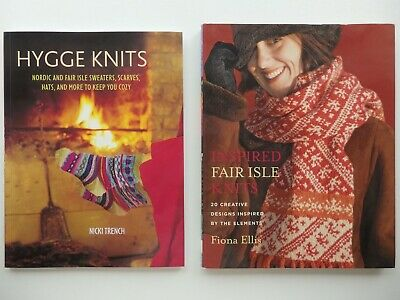 Hygge Knits Nordic & Fair Isle Sweaters, Scarves etc or Fair Isle Knits Book