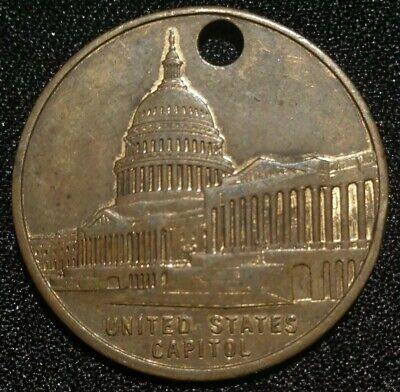 1950 United States Capitol National Capital Sesquicentennial Medal Coin Token Us
