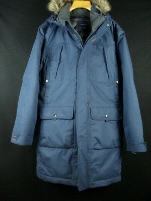 b15cfd1234 NWT LANDS' END Goose Down Puffer Parka Coat w/Hood Quilted Lining Sz XL