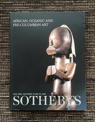 RARE 2000 Sotheby's Auction Catalog: African, Oceanic and Pre-Columbian Art