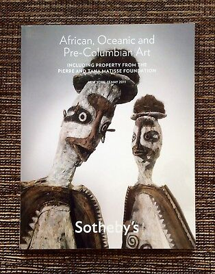 VERY RARE 2011 Sotheby's Auction Catalog: African, Oceanic and Pre-Columbian Art