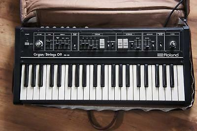 Roland RS-09 Vintage Synthesizer Keyboard 44 key Working from Japan