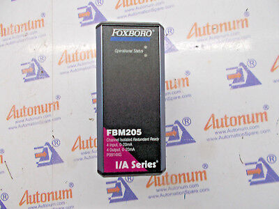 NEW FOXBORO FBM 205 P0914XG Channel Isolated  4 Input / Output 0-20 mA