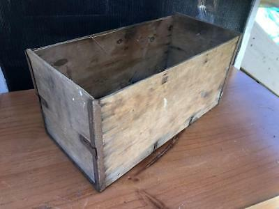 Vintage retro Industrial Wooden Timber box No-Nails Pty Ltd Rustic Décor Display