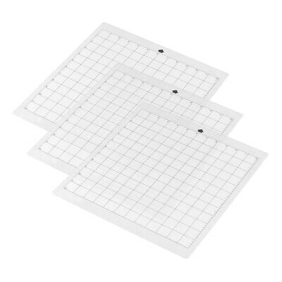 Cutting Mat Transparent Adhesive Mat With Measuring Grid 12 * 12 Inch E9Z7