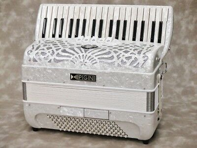 EXCELSIOR 304 NORMAL 37 Keyboard Key Piano Accordion Never Used W