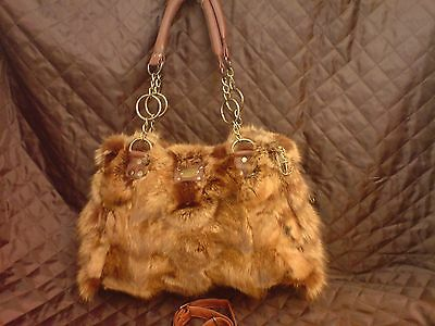 Real Fur  Fox Excellent Quality And Real Leather Handmade Fast Shipping:5-10 Day