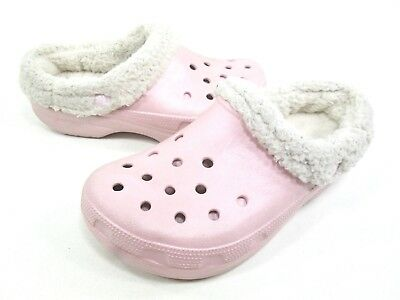 f0794bd95890  29.99 Buy It Now 14d 10h. See Details. Crocs Kids  Mammoth Shearling  Slip-On Cotton Candy Croslite Children s ...