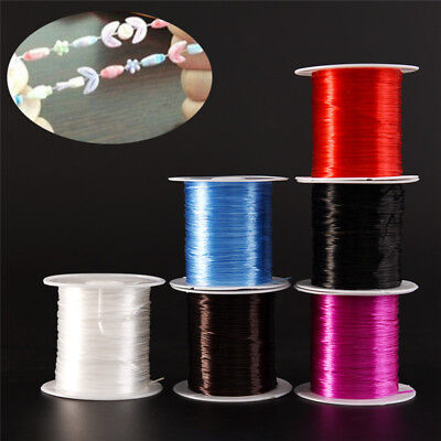 Strong Stretchy Elastic Beading Thread Cord Bracelet String Jewelry DIY 1MM MC