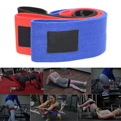Unisex Booty Band Hip Circle Loop Resistance Band Workout Exercise For Legs R6N5