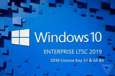 Microsoft Windows 10 Enterprise LTSC 2019 32&64 Bit Activation Code License Key