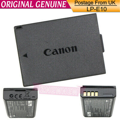 Genuine Original Canon LP-E10 Battery for LC-E10E EOS 1100D 1200D 4000D Kiss X50