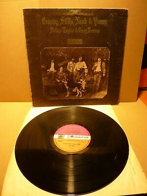 Crosby Stills Nash & Young-Deja Vu. 1St Uk Pressing Vinyl Lp Record 1970
