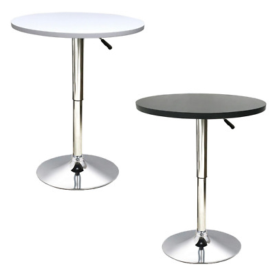 Bar Table Adjustable Height Bistro Cafe Kitchen Home Breakfast Tables Millhouse