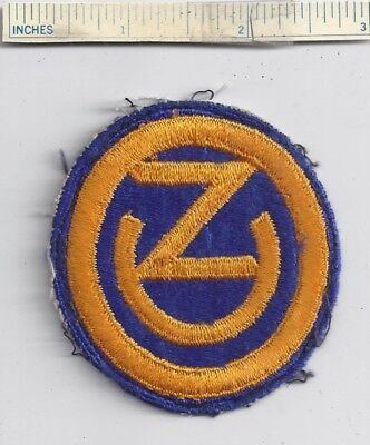 ORIGINAL WW2 PATCH 102nd INFANTRY DIVISION WWII Shoulder