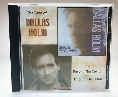 Best Of Dallas Holm CD Beyond The Curtain Through The Flame