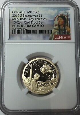 2019-S Ngc Pf70 Sacagawea Native Dollar Proof Pf 70 Early Releases