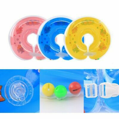 Babies Toddlers Swimming Neck Float Bright Color Swimming Ring Soft Safety Tube