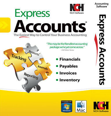 Accounting Software Accounting Program | Full License | Email Delivery Now!