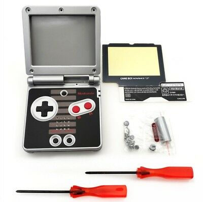 Coque Gameboy Advance SP GBA SP NES Coque Remplacement Rechange Case Cover