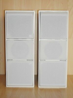B&O Bang & Olufsen Beovox CX-100 Speakers * White Color * Excellent Condition