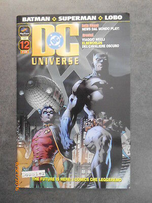 DC UNIVERSE n° 12 - Ed. Play Press - 2004