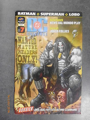 DC UNIVERSE n° 7 - Ed. Play Press - 2004