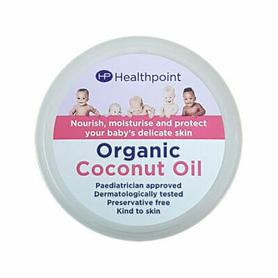 Healthpoint Organic Coconut Oil For Baby Skin 50ml Nourishing Moisturising Cream