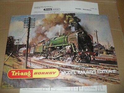 TRIANG/HORNBY MODEL RAILWAYS TOY CATALOGUE 1971 17th UK EDITION+ P/LIS  EXCELLENT