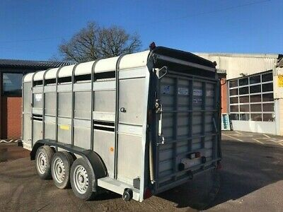 USED Ifor Williams TA510-14 - with decks - No VAT