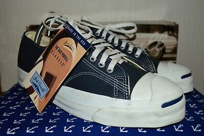 96a266d7d3a8aa Converse Jack Purcell Vintage Rare Leather Deadstock OG MADE IN USA 9 NWB
