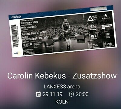 Carolin Kebekus Tickets Neubrandenburg Tickets