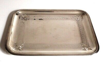 FRANCE: Nice TRAY in STERLING SILVER (22 cent x 16 centimeters) 287 Grams 19th C