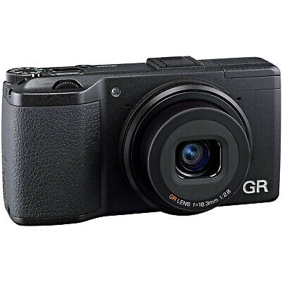 Ricoh GR II HD Wi-Fi Digital Camera Black