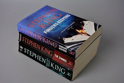 R&L Paperback Job Lot: Stephen King x3 The Shining/Finders Keepers.... RRP £24