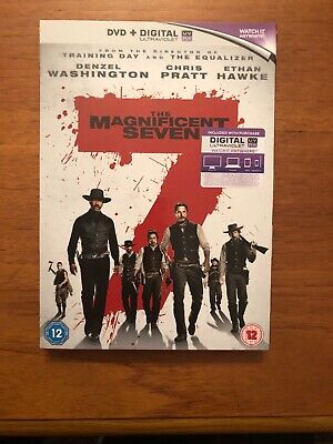 The Magnificent Seven [DVD] [2016]- Region 2 UK