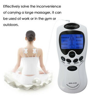 Electric Stimulator Massager Tens Acupuncture Muscle Relax Therapy Machine V5J3