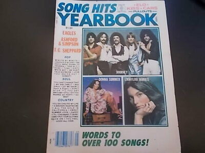 Journey, Donna Summer, The Eagles - Song Hits Yearbook Magazine 1980
