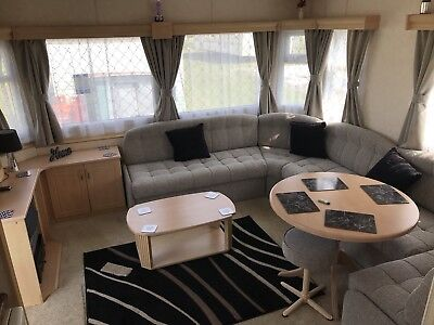 6 Birth Static Caravan For Hire Ingoldmells Mablethorpe Skegness 13th July 2019