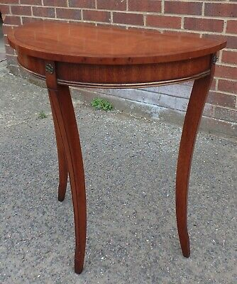 Bevan Funnell Reprodux George III antique style mahogany console hall side table