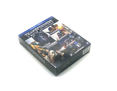 Transformers 5-Movie Collection Blu-ray + Digital HD Set Brand NEW & Sealed
