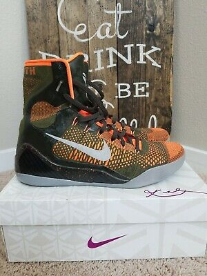 8185a106c082 Nike Kobe IX 9 Elite Sequoia Hyper Crimson Red size 12.5. 630847-303  perspective