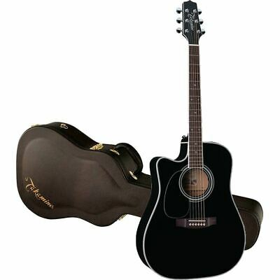 New Takamine Legacy EF341SC Left-Handed Acoustic Electric Guitar w/ Hard Case
