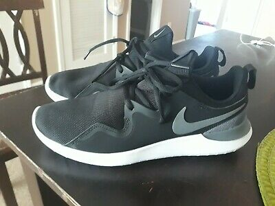 1c0db67d1 Nike Men s Tessen Running Shoes size 9 style AA2160-004 Black and White