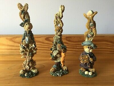 """ADORABLE! NIB /& NUMBED /""""EASTER EGGSTRAVAGANZA 6/""""T BOYDS BEARSTONE COLLECTION"""