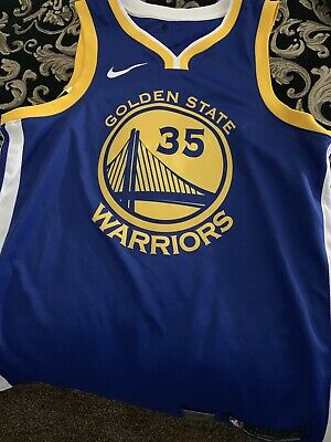 save off e3a16 21ab4 NIKE AEROSWIFT KEVIN Durant Warriors Icon Authentic Jersey NEW MENS Large 48